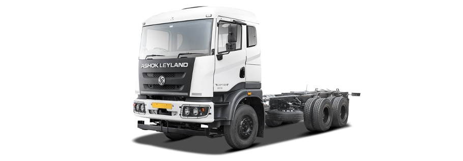 Ashok Leyland Captain 2518 Price in India - Mileage, Specs & 2019 Offers