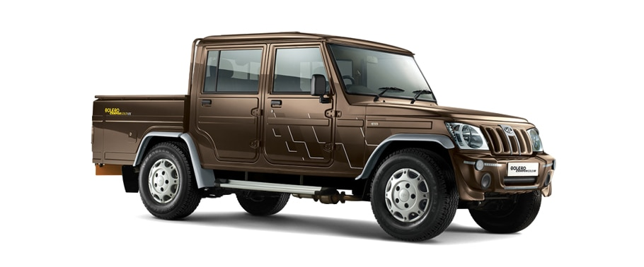 Mahindra Bolero Camper Gold Price in India - Mileage, Specs
