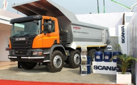 c429a878ad2171 Scania India delivers 300th Tipper to VPR Mining Infrastructure