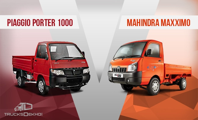 Comparison Between Piaggio Porter 1000 And Mahindra Maxximo