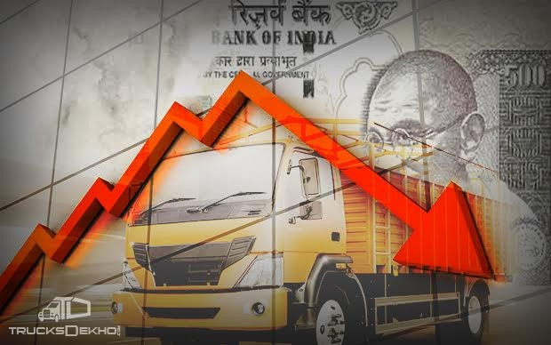 Demonetization Effect Commercial Vehicles Sales In