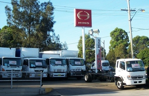Hino's dealership in Adelaide, Australia celebrates its 45th
