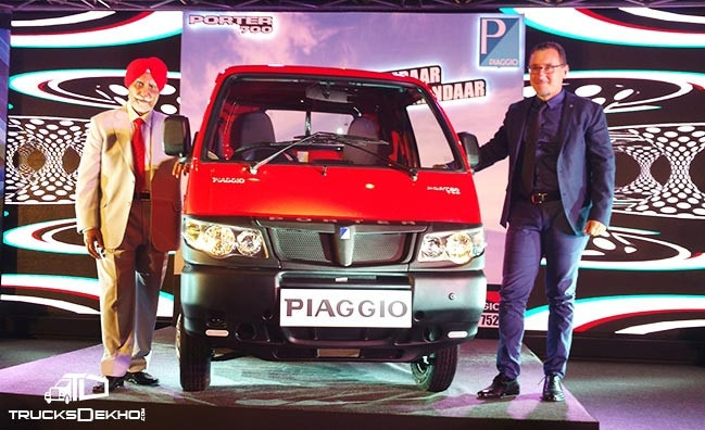 piaggio porter 700 lcv launched at inr 3.18 lakh