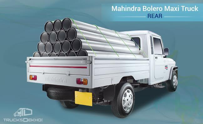Mahindra Bolero Maxi Truck Price Mileage Specifications