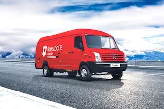 Force Traveller Delivery Van Wider