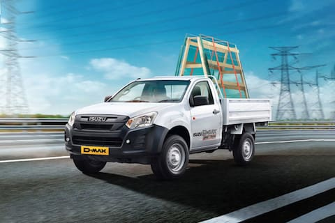 Isuzu D-MAX High Ride/Cab Chassis