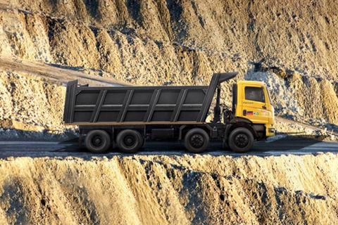 Mahindra Blazo X 35 8x4 Tipper 5380/22 Cum Box Body