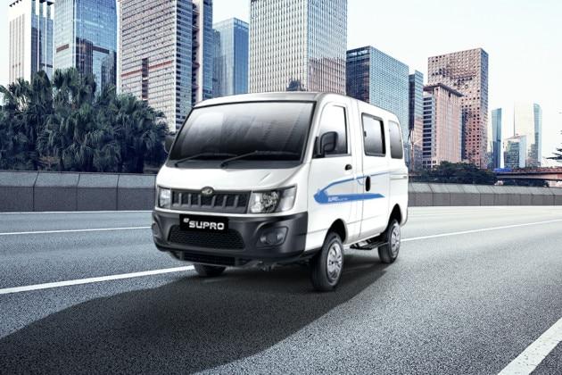 Mahindra E-Supro Cargo Van