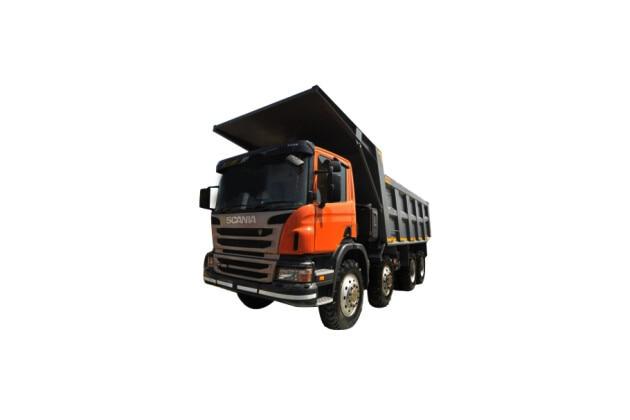 Scania P410 8x4
