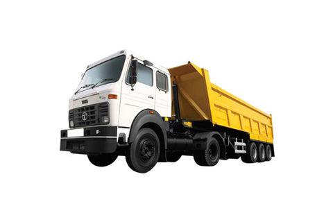 Tata LPS 4018 24 CuM /Tip Trailer/FBV